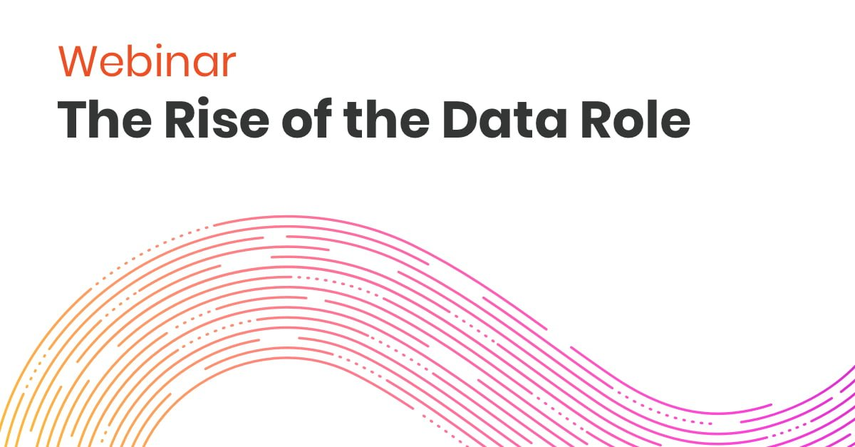 Webinar Rise of Data Role