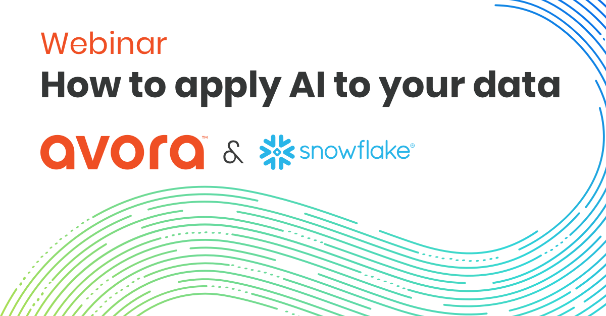 Webinar Snowflake How to apply AI to your data