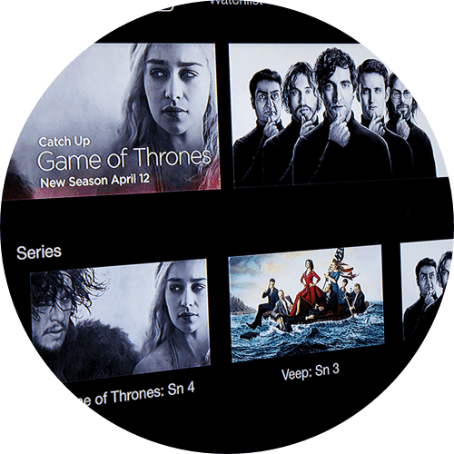 HBO Hero Content Circle