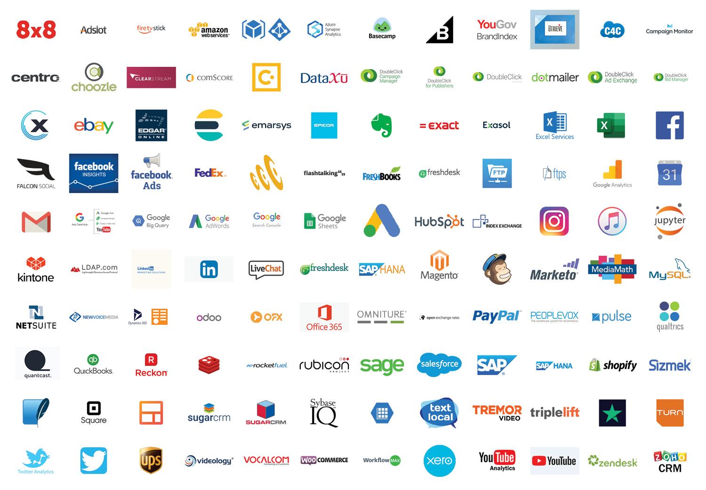 Avora App Store Logo Wall