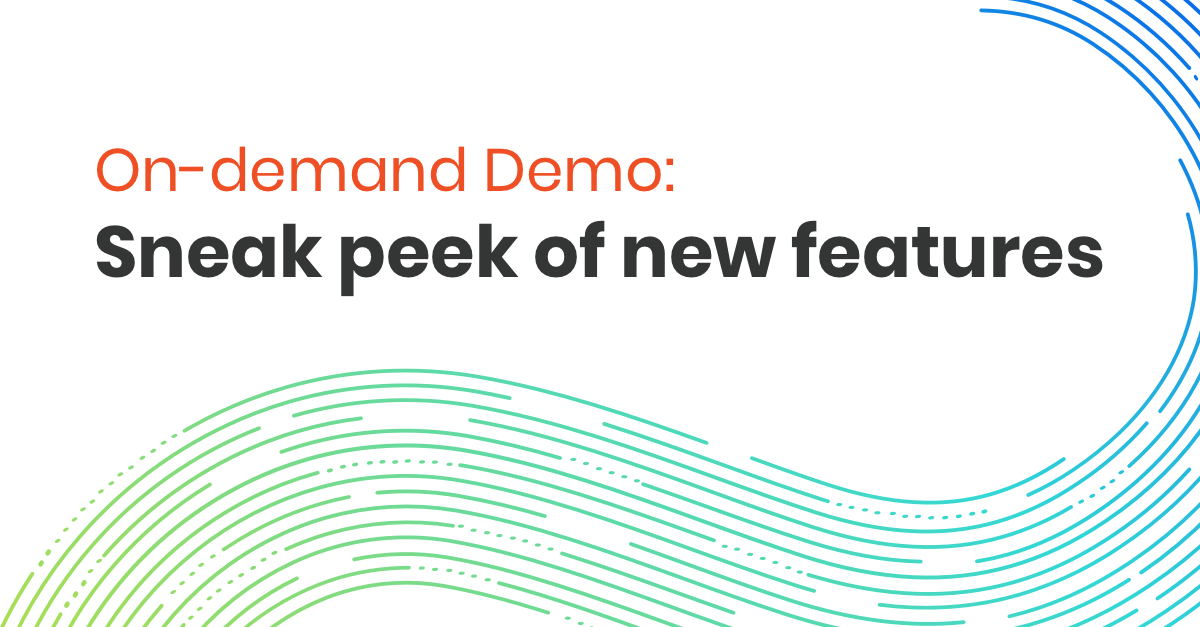 Webinar On Demand Demo