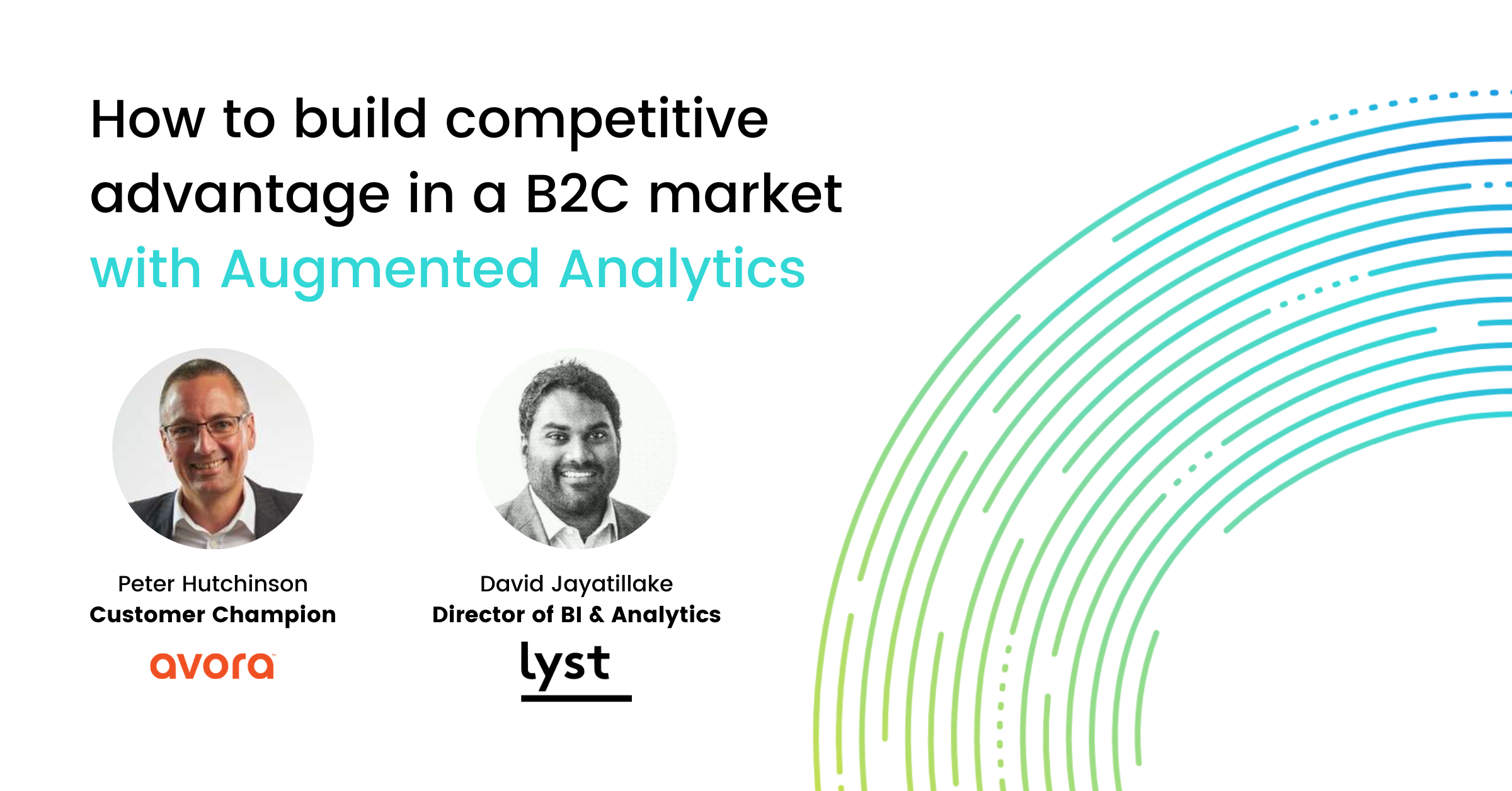 Webinar Competitive Advantage with Augmented Analytics